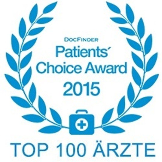 op-s Center St.Peter ausgezeichnet mit dem Patients Choice Award 2014 - 2016